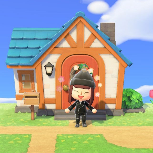 Natasha's character in 'Animal Crossing: New Horizons'